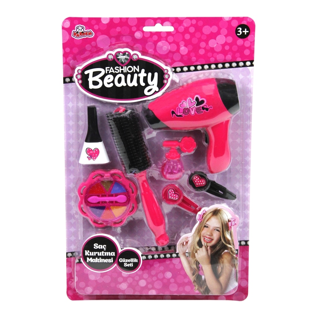 Oyuncak Güzellik Makyaj Seti Saç Kurutma Makinesi Pilli Fiyatları ve  Özellikleri