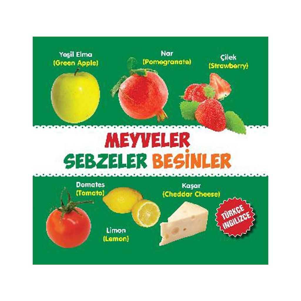 Parilti Meyveler Sebzeler Besinler Turkce Ingilizce Kolektif