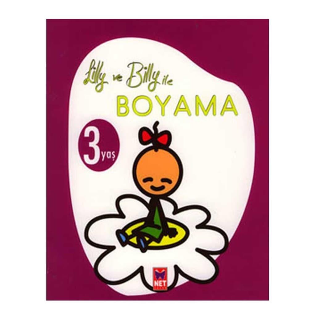 Lilly Ve Billy Ile Boyama 3 Yas N11 Com