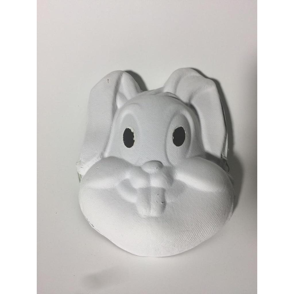 3 Adet Farklı Hayvan Figürlü Kalın Karton Boyama Maskesi Seti N11com