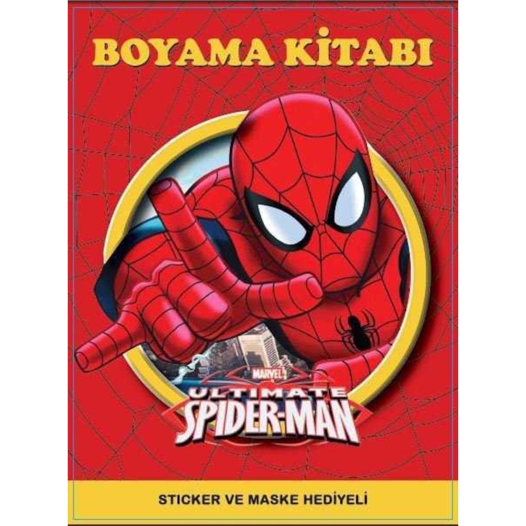 Spiderman Boyama Kitabı Sticker Ve Maske Hediyeli N11com