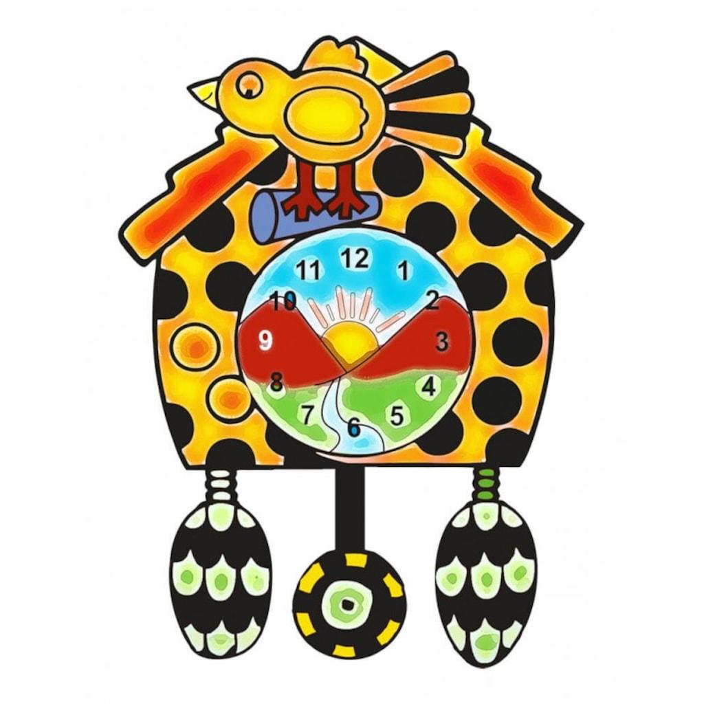 Ahşap Saat Boyama 6lı Akrilik Boya Ve Fırça Hediye S 14 N11com
