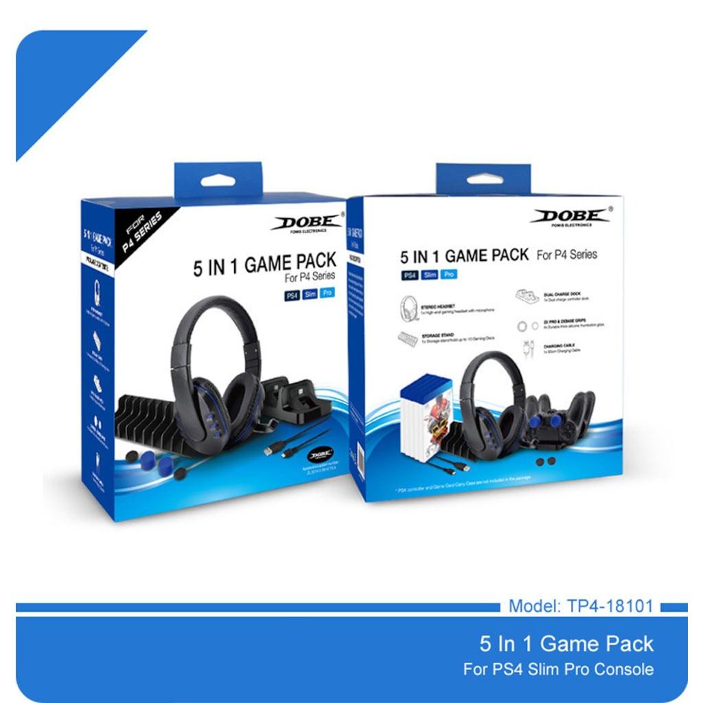Dobe Ps4 Oyun Seti Game Pack Sarj Ve Oyun Standi Kulaklik 5 In 1 Fiyatlari Ve Ozellikleri