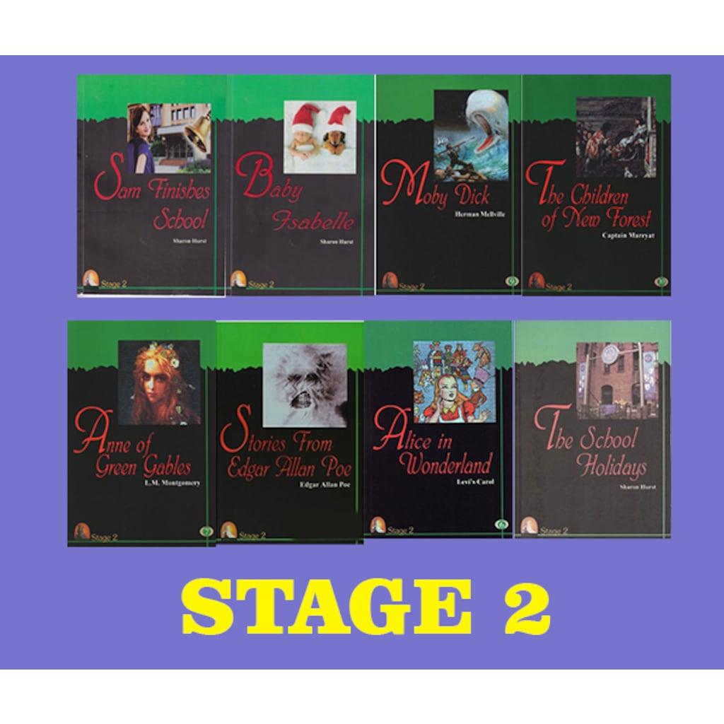 Ingilizce Hikaye Seti Stage 2 8 Kitap N11com