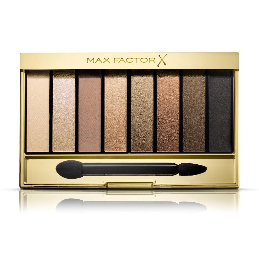 MAX FACTOR Masterpiece Nude paleta sjenila - 08 Matte