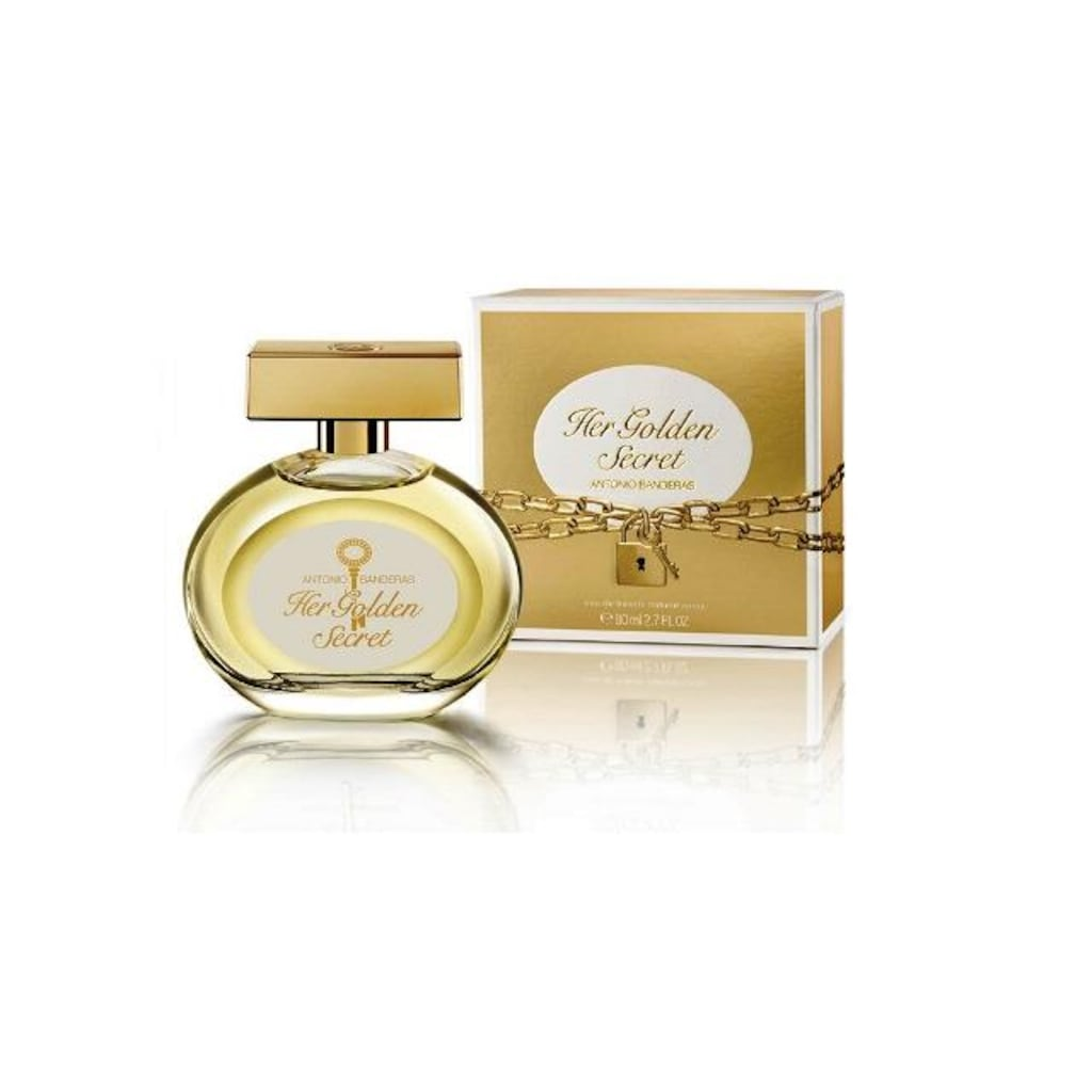A.Banderas Her Golden Secret Тестер 80 мл edt