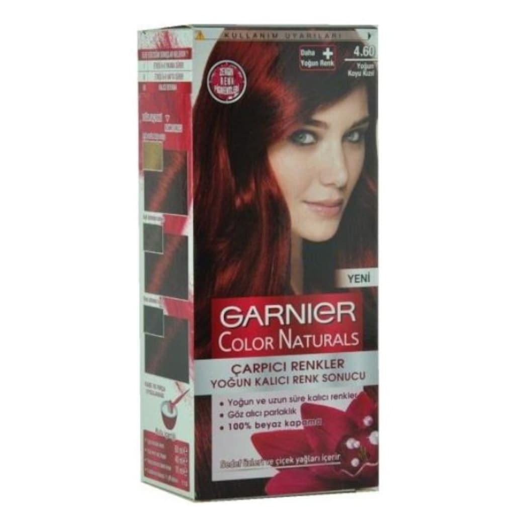 Koyu Kızıl Saç Boyaları