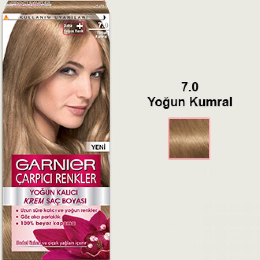 Garnier Naturel çarpıcı Saç Boyası 70 Yoğun Kumral N11com