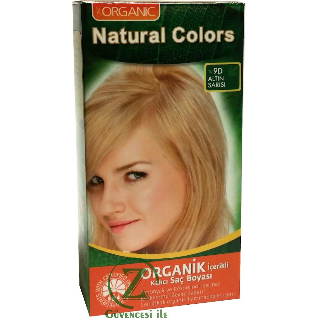Organik Saç Boyası Altın Sarısı 9d Organıc N11com