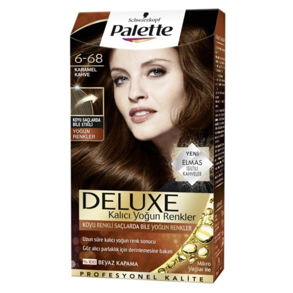 Palette Deluxe Saç Boyası 6 68 Karamel Kahve N11com