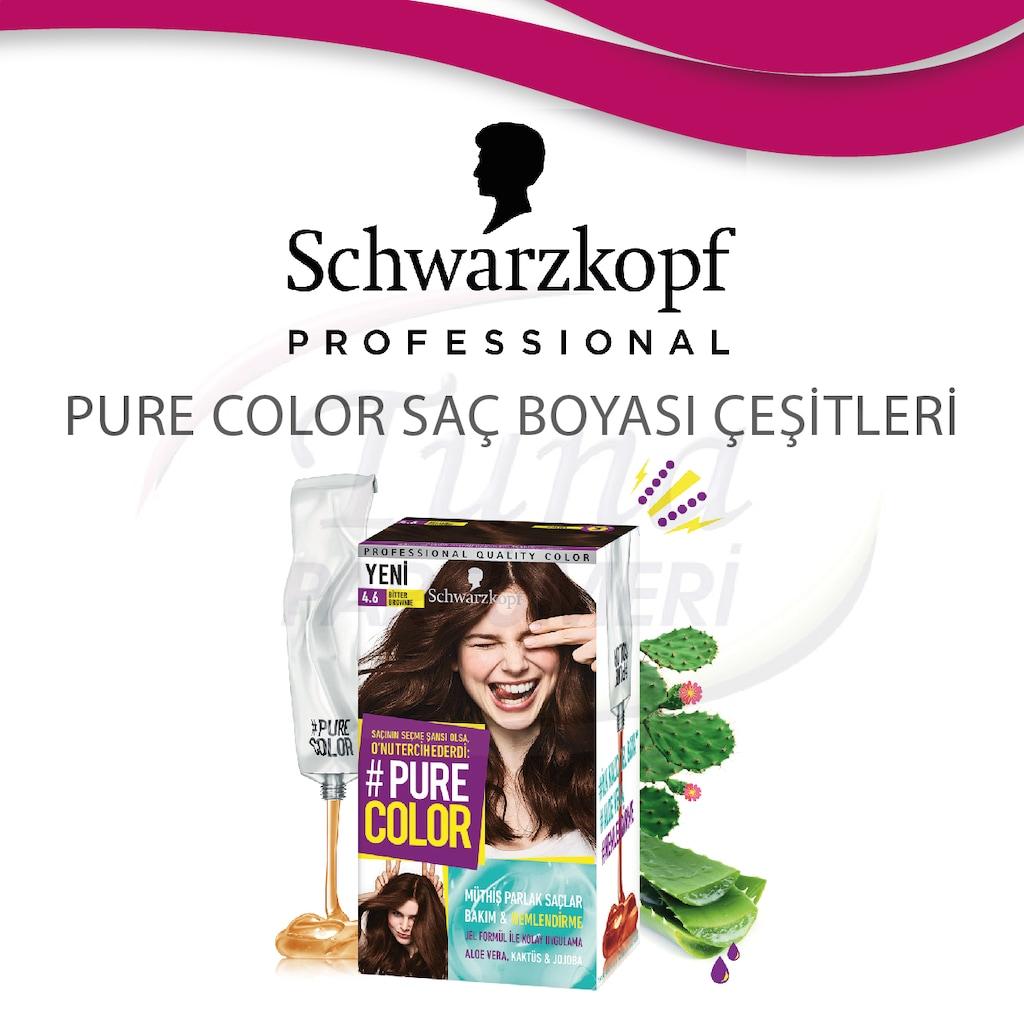 Schwarzkopf Pure Color Sac Boyasi Cesitleri Fiyatlari Ve Ozellikleri