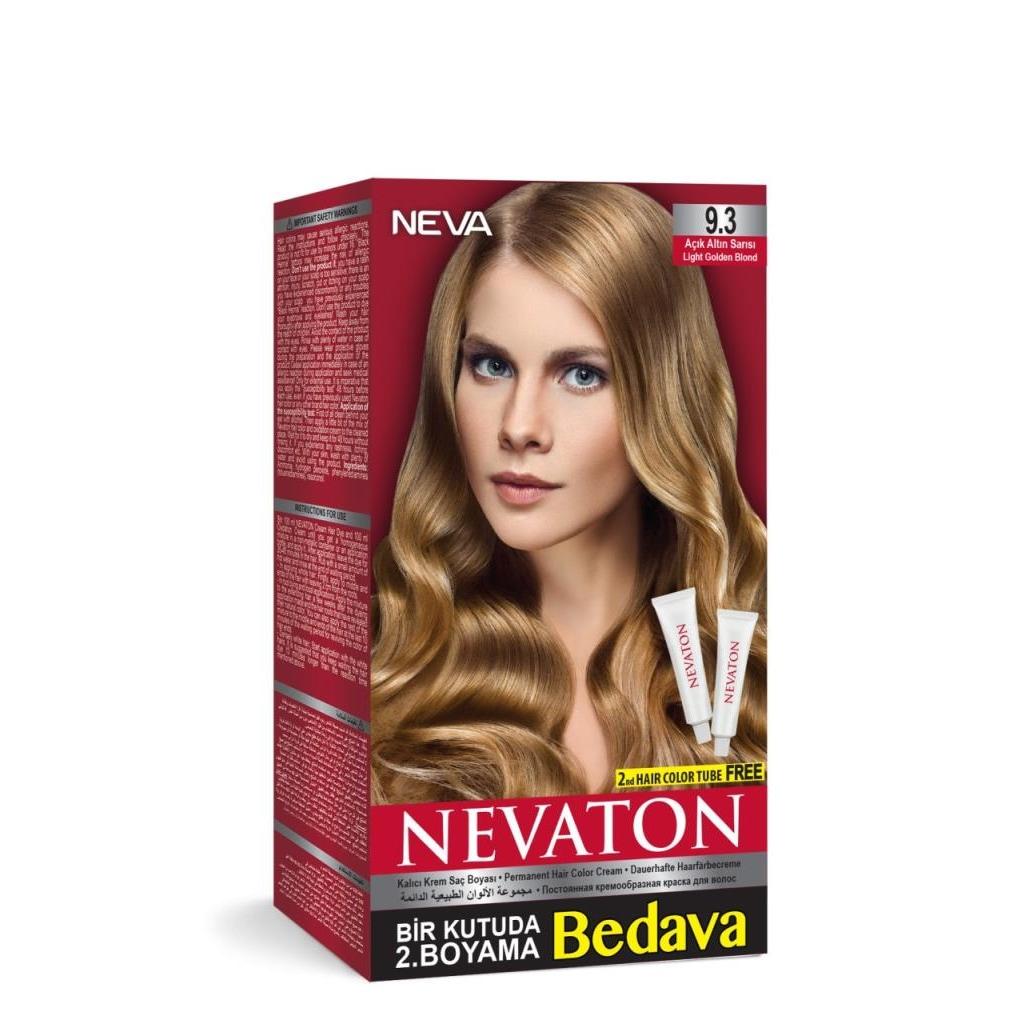Nevaton Kalıcı Krem Saç Boyası 93 Altın Sarısı N11com