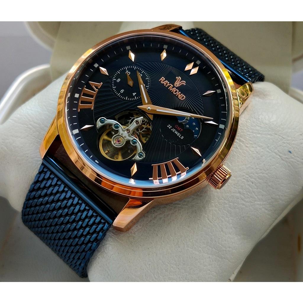 Raymond Swiss Gmt Otomatik Lacivert Erkek Kol Saati Fiyatlari Ve Ozellikleri