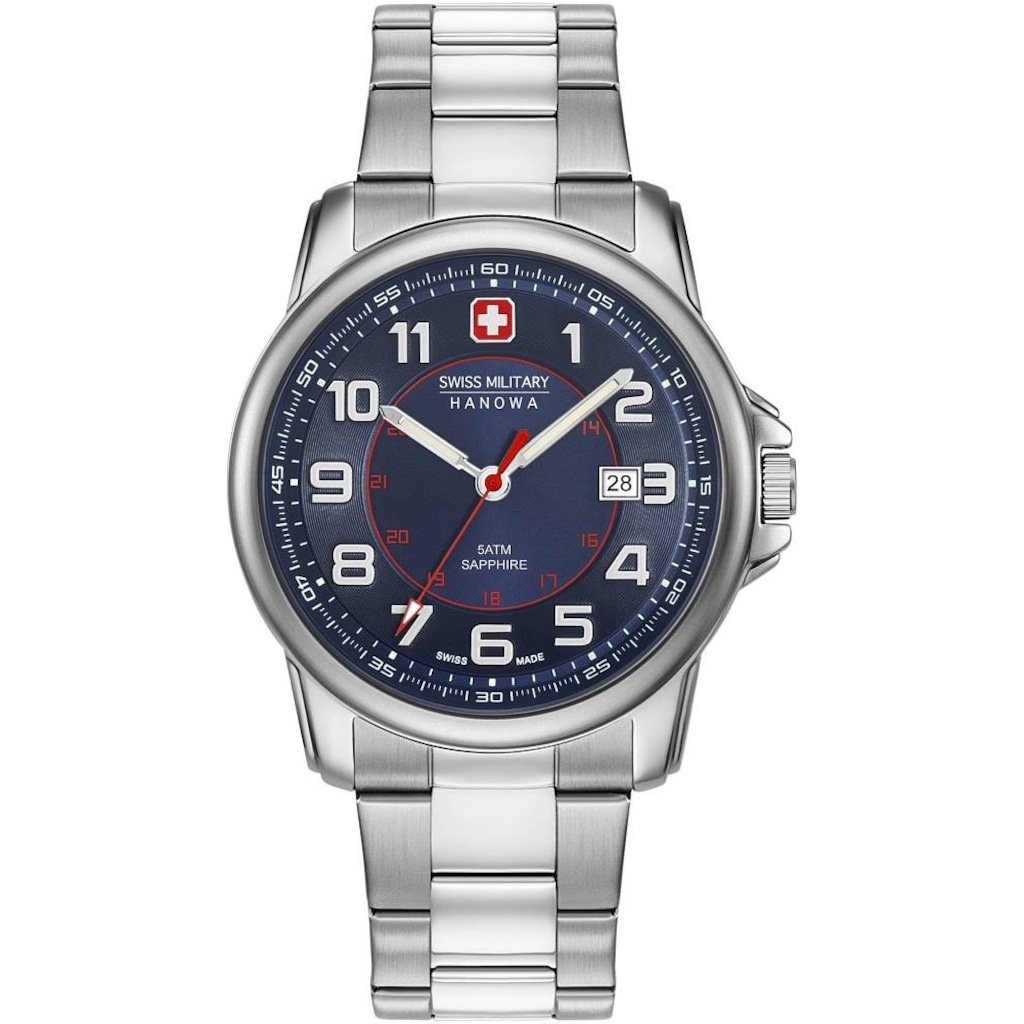 Swiss Military by Hanowa Saat ile Zamanı Kontrol Altına Alın
