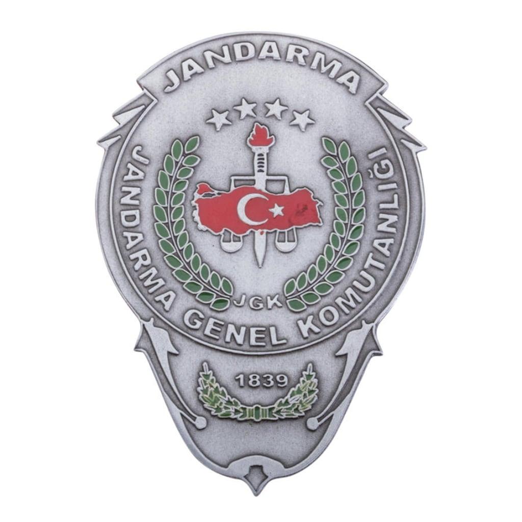 Jandarma Genel Komutanlığı Cüzdan Rozeti N11com