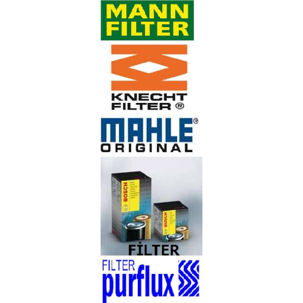 Orjinal Mini Cooper S 3lü Filtre Set Mann Mahle Bosch Purflux