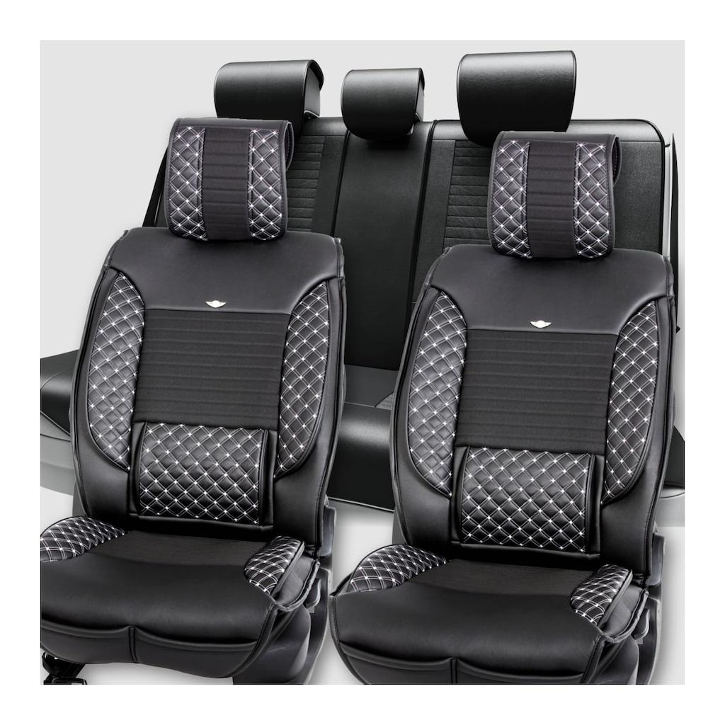 Stil Luks Oto Koltuk Kilifi Siyah Beyaz Opel Astra Fiyatlari Ve Ozellikleri