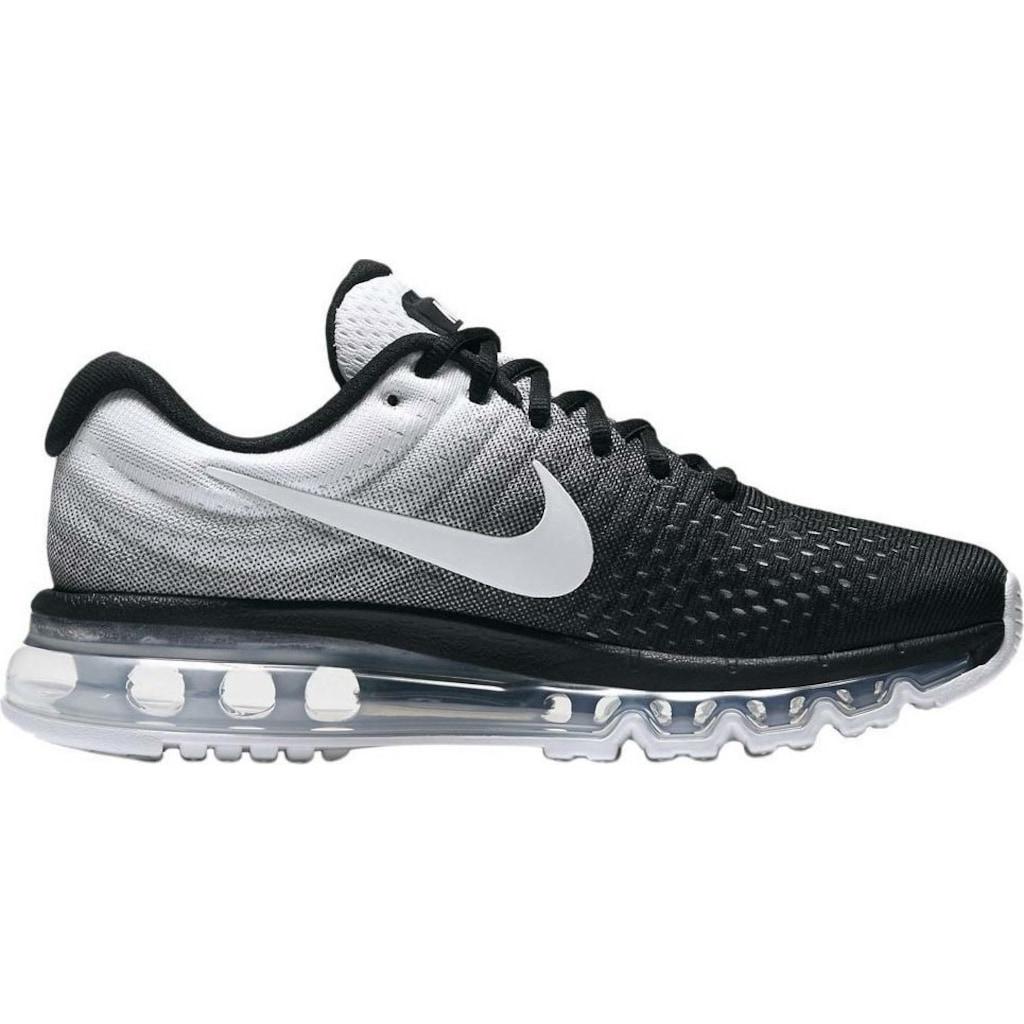 Nike Air Max 2012 Kadınlar Spor Ayakkabısı Siyah Yeşil Üst