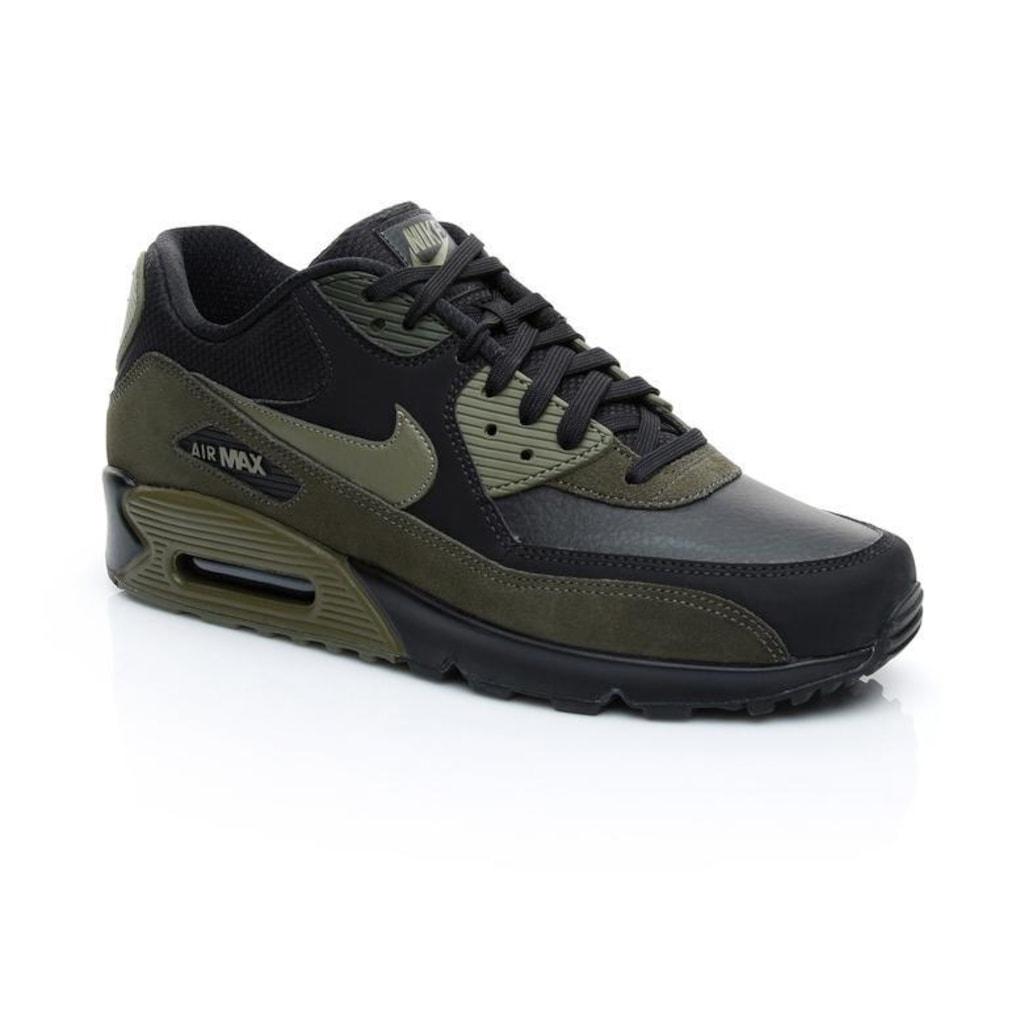 cd8c1fd095a Nike Air Max 90 Leather Erkek Spor Ayakkabı 302519-014 - n11.com