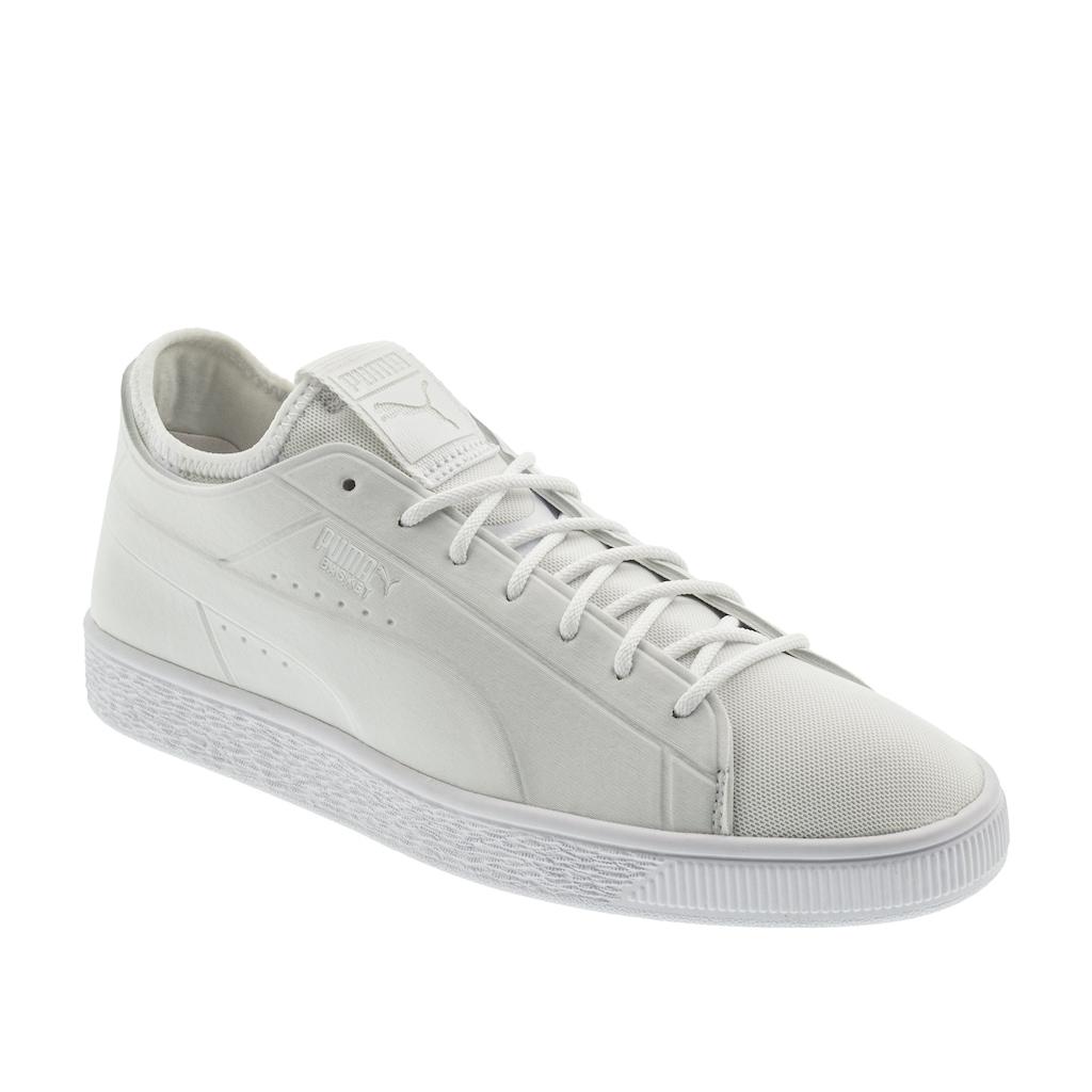 size 40 dfd25 e39de Puma Basket Classic Sock Lo Erkek Beyaz Spor Ayakkabı ...