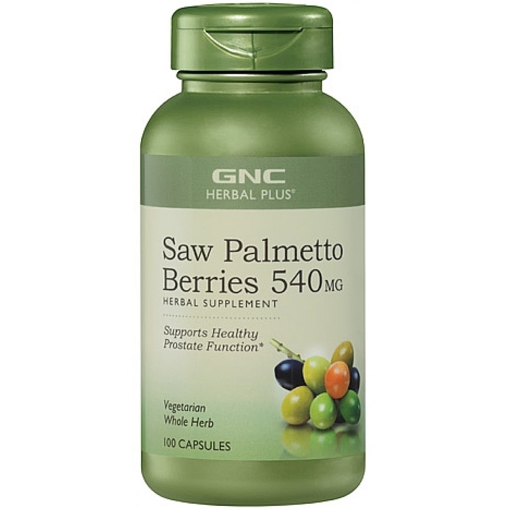 GNC Cod Liver Oil 100 kapsul lunak 2 . Source · GNC Saw Palmetto Extract 540MG