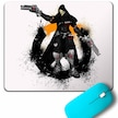 OVERWATCH REAPER HEROES STEAM LOGO MOUSE PAD