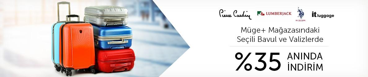 MÜGE+ Mağazası - Bavul Valiz Modelleri - %35 Anında İndirim