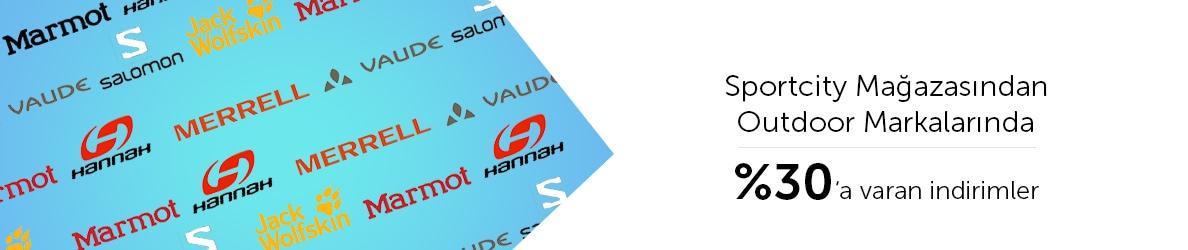Sportcity Mağazasından Outdoor Markalarında %30'a Varan Sezon İndirimleri