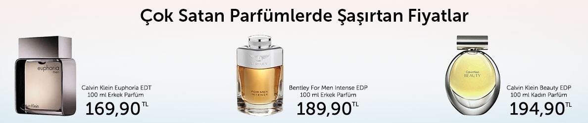 Çok Satan Parfümlerde İndirim Fırsatları