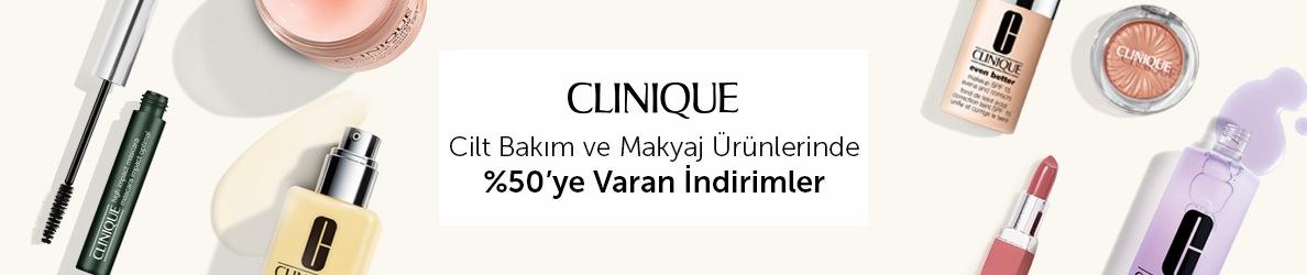 Clinique - %50'ye varan İndirim