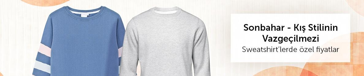 Sonbahar-Kış Stilin Vazgeçilmezleri - Sweatshirt