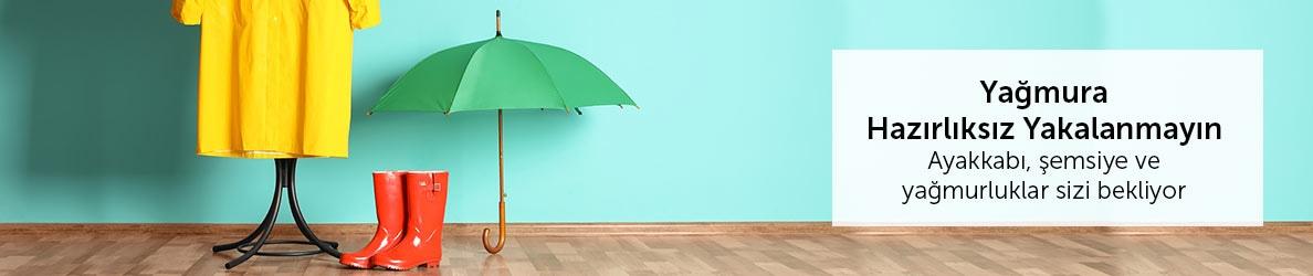 Yağmura Hazırlıksız Yakalanmayın