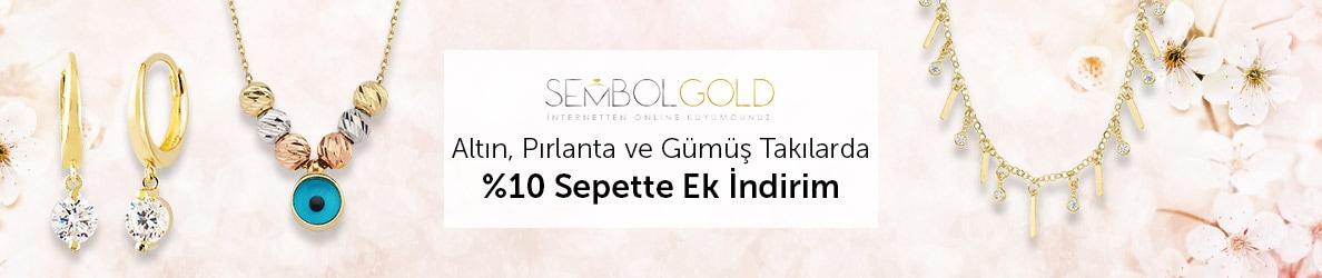 Sembolgold Tüm Takılarda %10 Sepette Ek İndirim