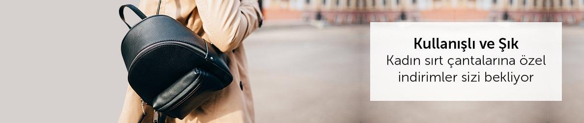 Kadın Sırt Çantalarına Özel İndirimler Sizi Bekliyor