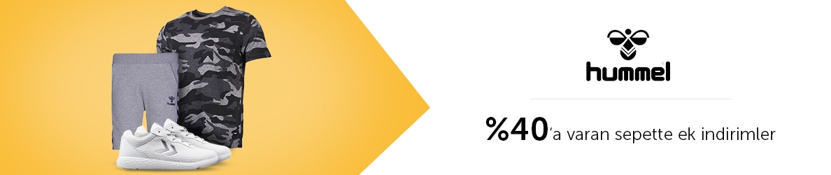 Hummel Marka Ürünlerde %40'a Varan Sepet İndirimleri