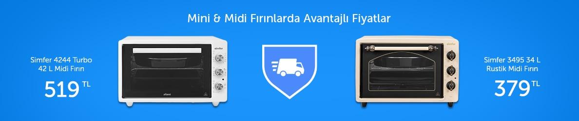 Mini&Midi Fırınlara Özel Fırsatlar