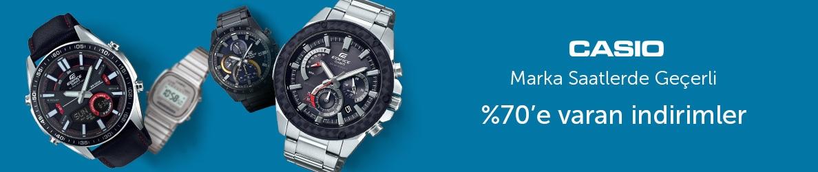 Casio Saatlerde %70'e Varan İndirim Fırsatı