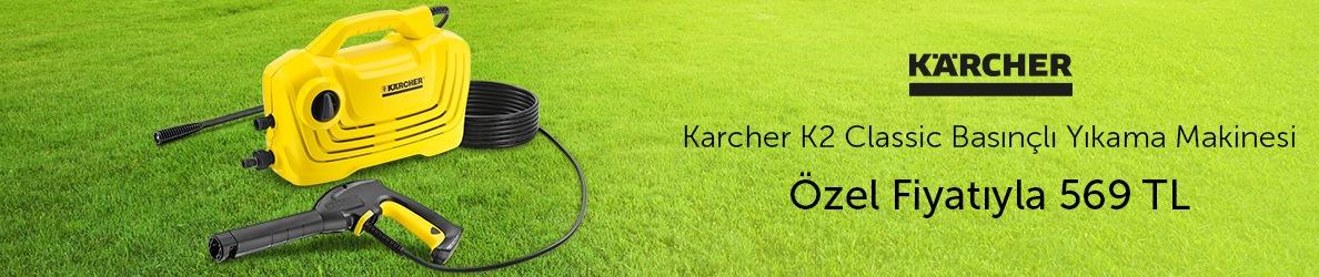 Karcher K2 Classic Basınçlı Yıkama Makinesi 569 TL