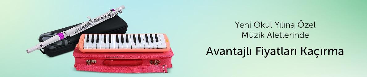 Müzik Aletlerinde Okula Dönüş Fırsatları