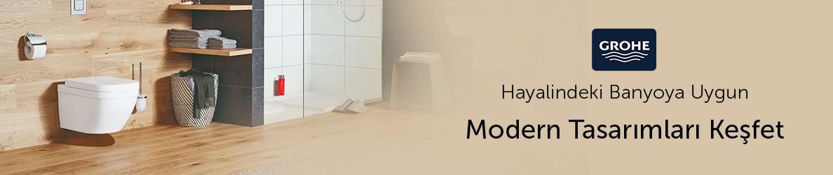 Grohe Ürünleriyle Modern Tasarımları Keşfet