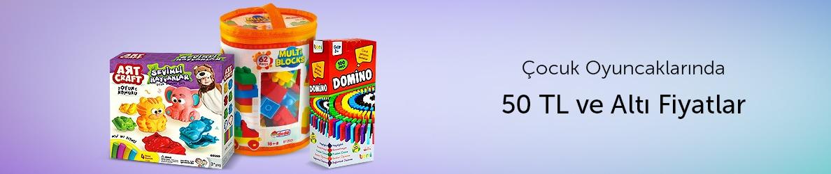 Çocuk Oyuncaklarında 50 TL Altı Ürünler