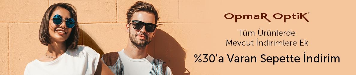 OpmarOptik Kadın ve Erkek Güneş Gözlüklerinde %30 Sepette İndirim Fırsatı!