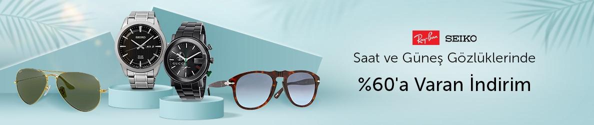 LEVENTOPTİKSAAT Saat & Güneş Gözlüklerinde %60'a Varan İndirim!