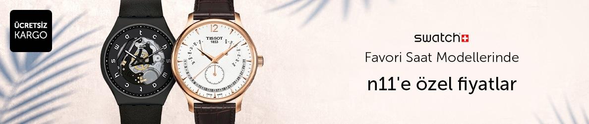 Swatch Saatlerde n11'e Özel Fiyatlar!