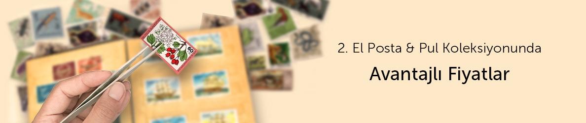 2. El Posta ve Pul Koleksiyonunda Avantajlı Fiyatlar