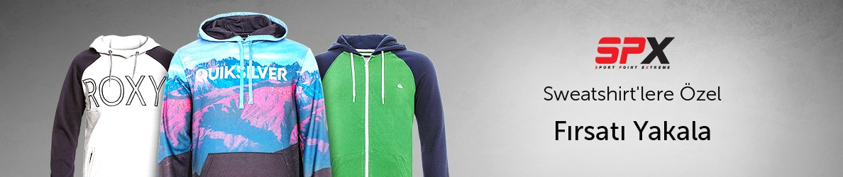 SPX Sweatshirtlerde Fırsatlar