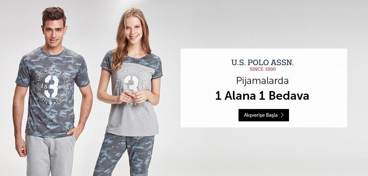 U.S.PoloAssn. pijamalarda fırsat