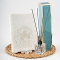 99004109 - Nazik Home Rita Dantelli El Havlusu + Ocean Oda Kokusu - n11pro.com