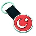 IMG-5660390487740747108 - Alcan 9041 Atatürk Metal Deri Anahtarlık Siyah - n11pro.com