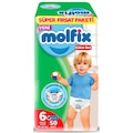 26319393 - Molfix Süper Fırsat Paketi Külot Bez 15-22 KG 6 Beden 50 Adet - n11pro.com